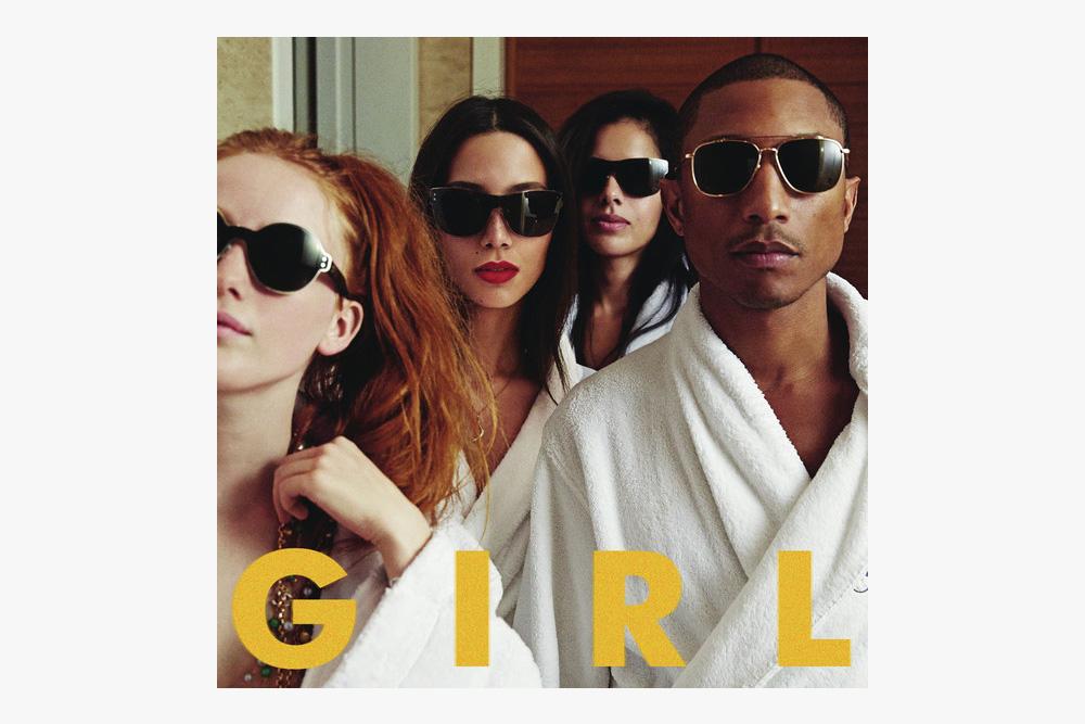 Pharrell G I R L album art